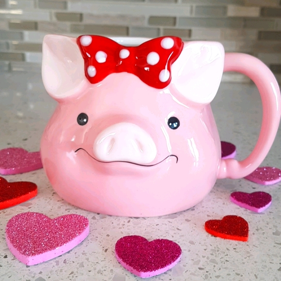 Pig Mug Cup (Pink)